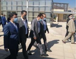 بازدید اعضای کمیسیون صنایع مجلس شورای اسلامی از پارک فناوری پردیس